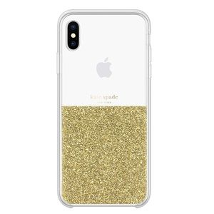 IPhone XS MAX Kate Spade clear crystal case